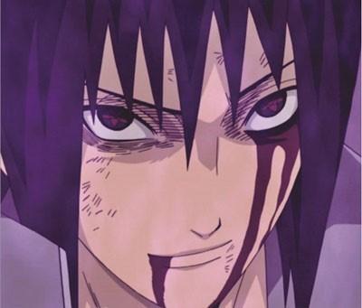 Mouse Pad - Sasuke Face