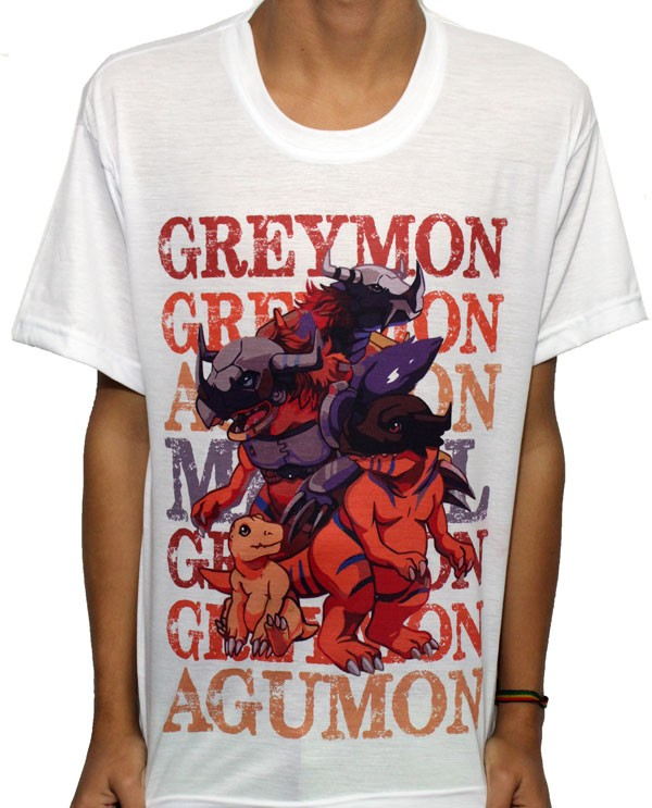Camisa SB Digimon - Agumon