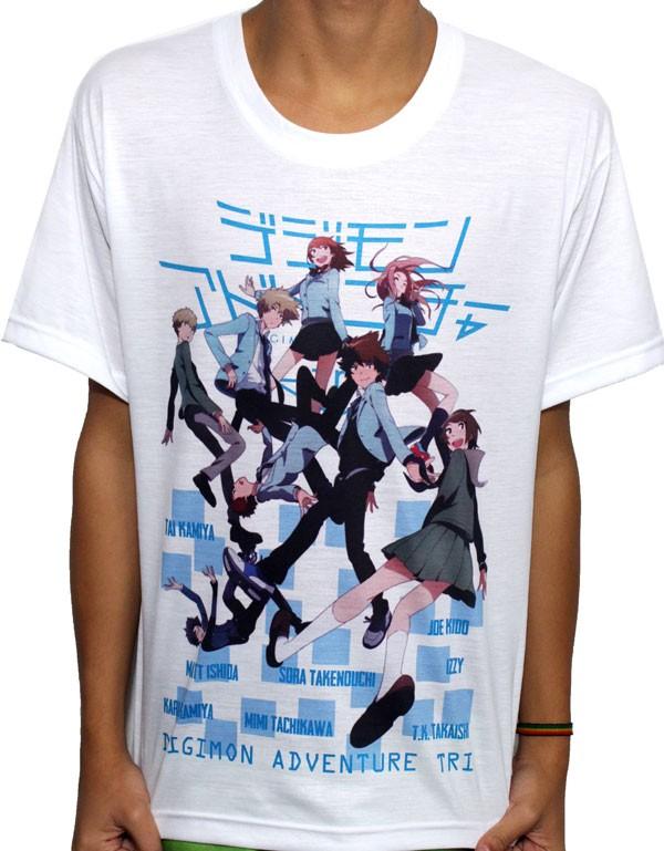 Camisa SB Digimon - Digimon Tri