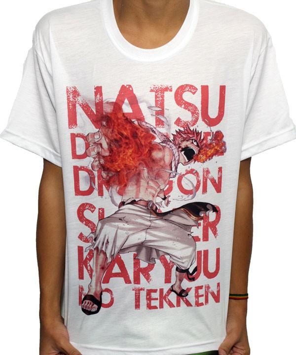 Camisa SB Fairy Tail - Natsu