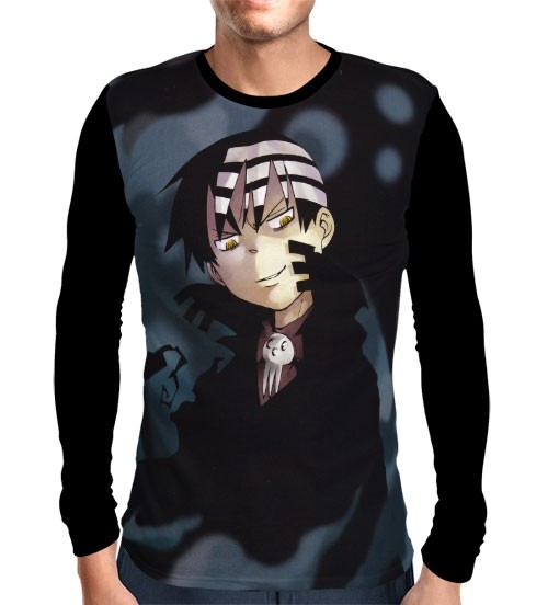 Camisa Manga Longa Death The Kid - Soul Eater