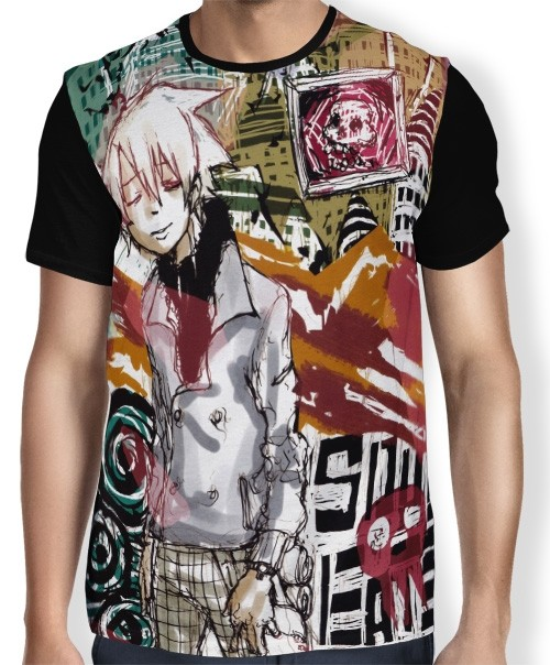 Camisa FULL Soul Evans - Soul Eater