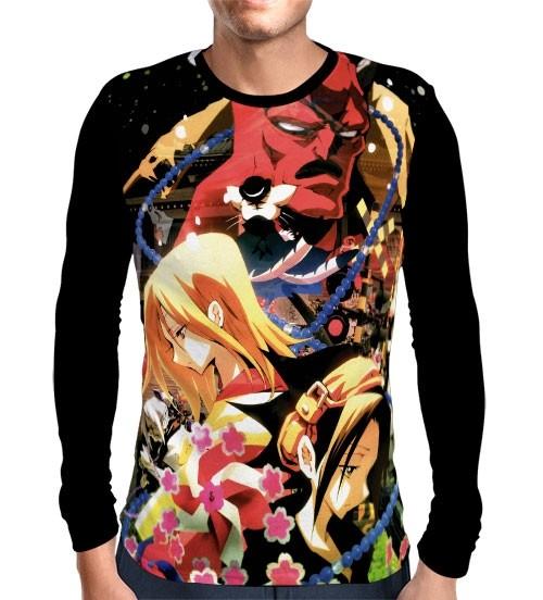 Camisa Manga Longa Shaman King Zero