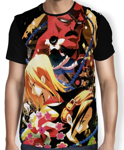 Camisa FULL Shaman King Zero