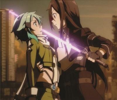 Mouse Pad - Kirito e Shinnon (Cena) - Sword Art Online II