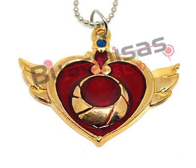 SLM-11 - Colar Crisis Moon Compact - Sailor Moon