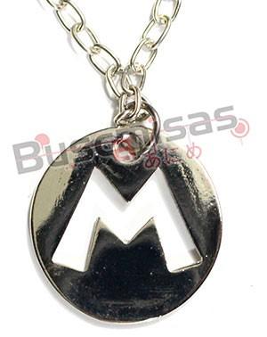 SMB-13 - Colar Medalha Super Mario