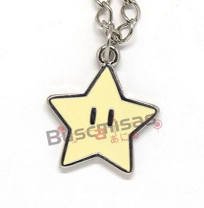 SMB-19 - Colar Estrela - Super Mario