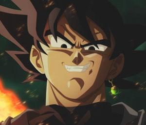 Mouse Pad - SMILE BLACK GOKU - Dragon Ball Super