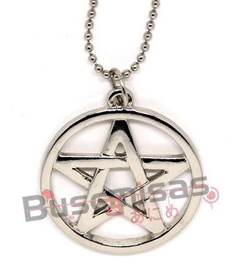 SN-05 - Colar Pentagrama Simples - Supernatural