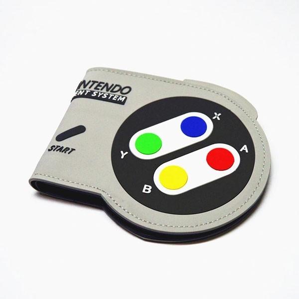 Carteira Premium Controle de Super Nintendo