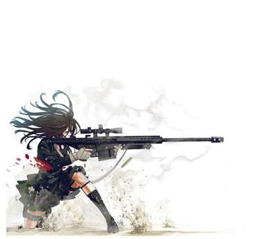 Mouse Pad - sniper rifle barrett - Innocent Bullet