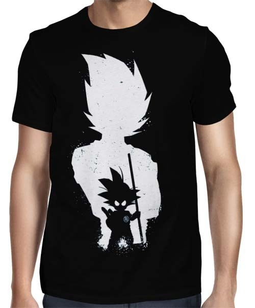 Camisa Full - Fases Son Goku - Dragon Ball