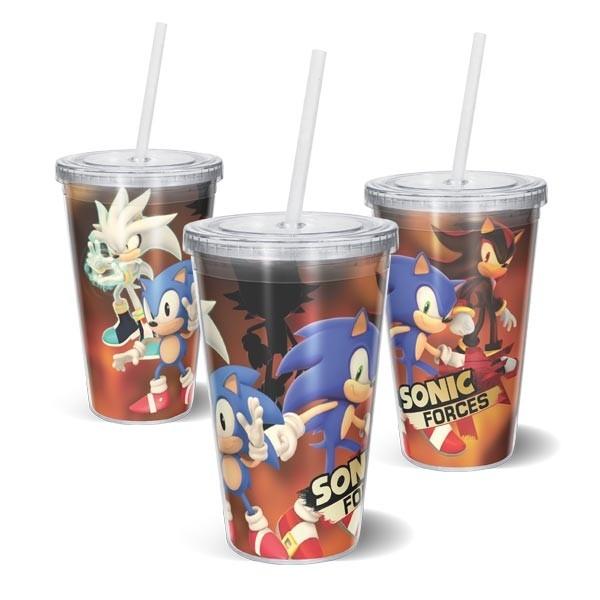 Copo Acrilico Sonic Forces
