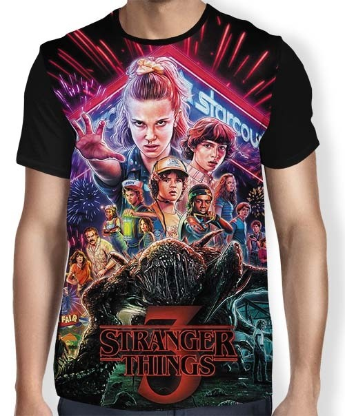 Camisa Full Stranger Things 3