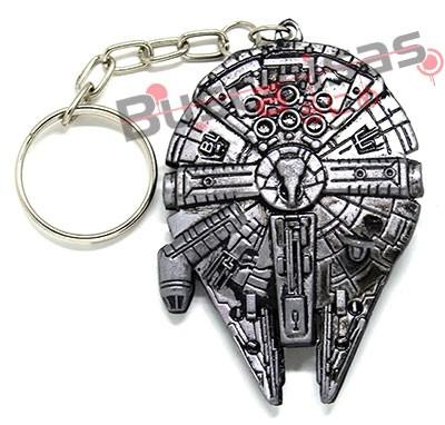 STW-07(CH) - Chaveiro Nave Millennium Falcon - Star Wars