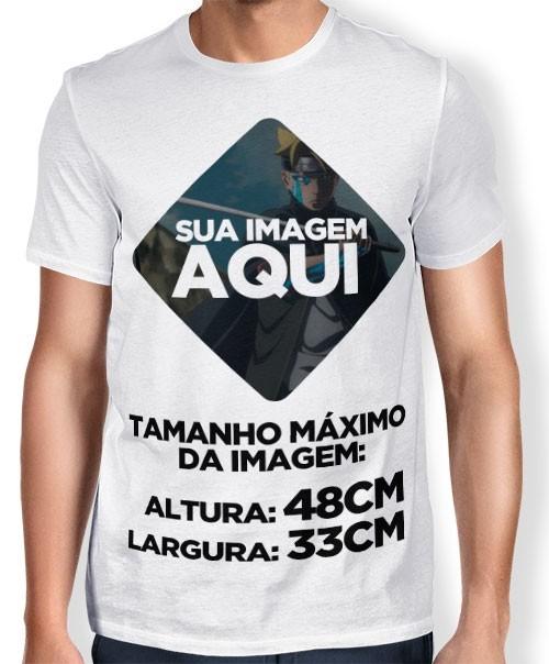 Camisa de Sublimação - Personalize a Sua