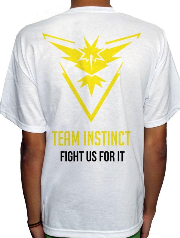 Camisa SB - TEAM INSTINCT - Pokemon GO