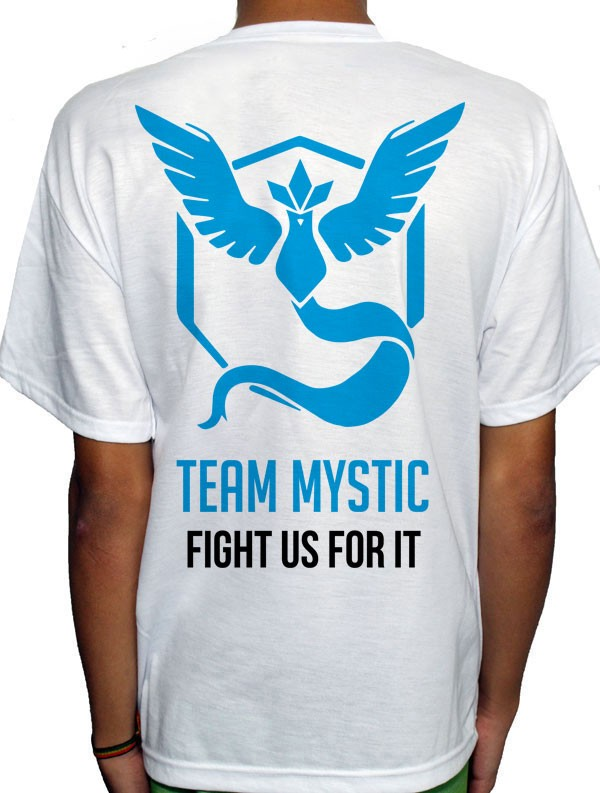 Camisa SB - TEAM MYSTIC - Pokemon GO