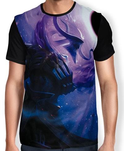 Camisa FULL Thresh Estrela Negra - League of Legends