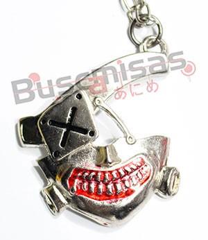 TKG-02 - Máscara Kaneki Prata - Tokyo Ghoul