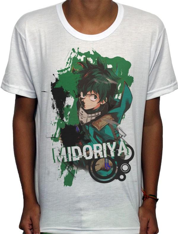 Camisa SB - TN Green Brusher Midoriya - Boku No Hero Academia