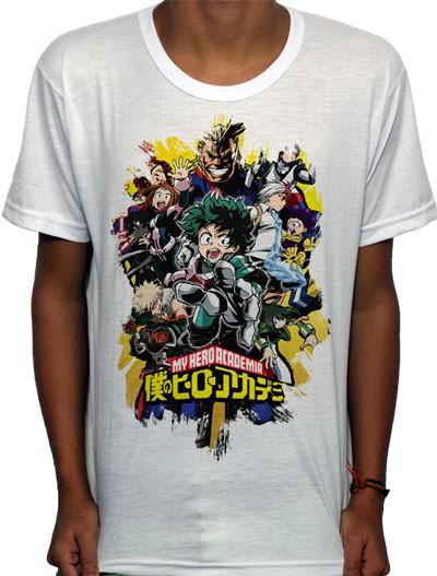 Camisa SB - TN Brusher My Hero Academia - Boku No Hero
