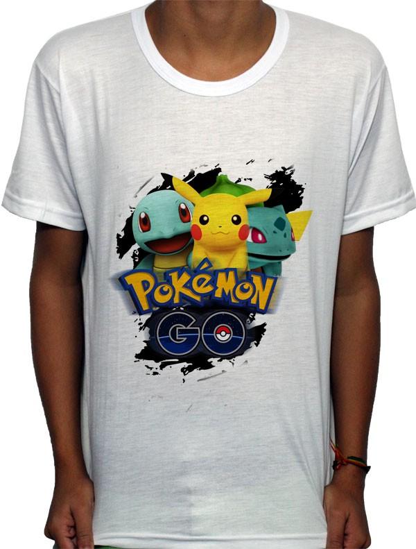 Camisa SB - Classic - Pokemon GO