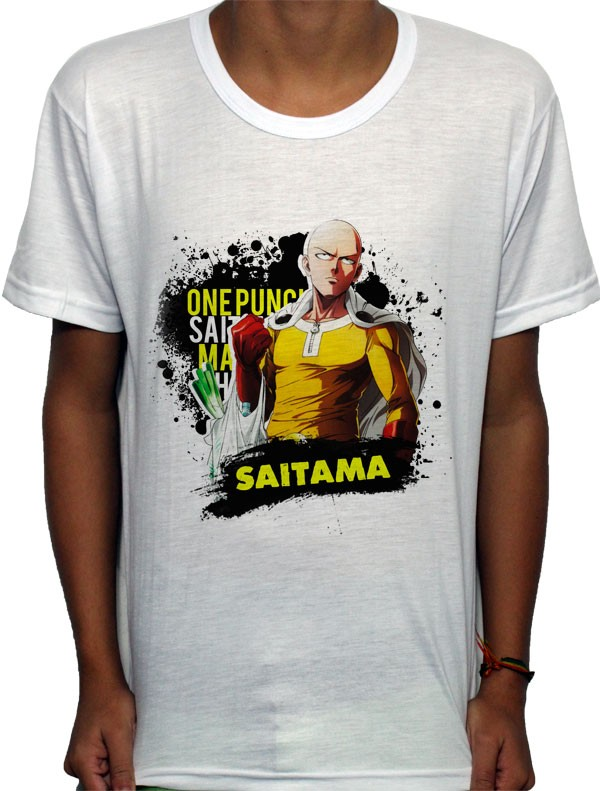 Camisa SB - TN Compras Saitama - One Punch Man
