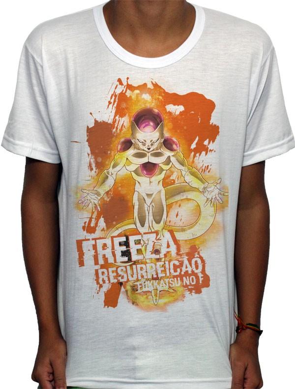 Camisa SB - TN Gold Freeza- Dragon Ball Z