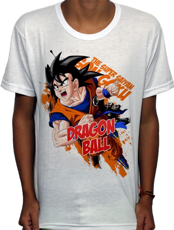 Camisa SB - TN Scream Goku - Dragon Ball Z