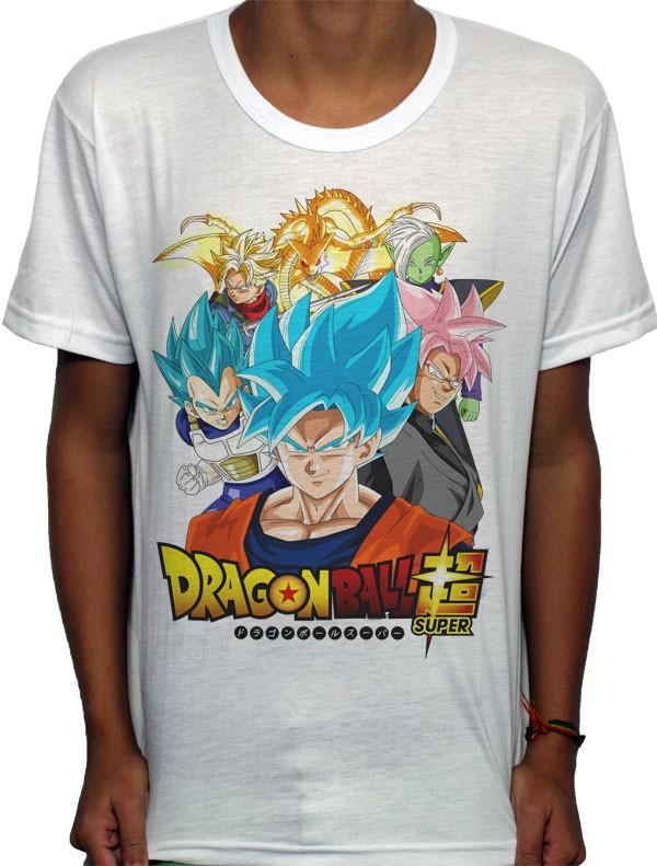 Camisa SB - TN Dragon Ball Super Gods