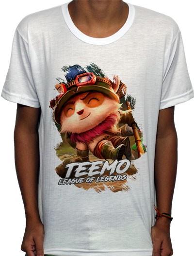 Camisa SB - TN Explorer Teemo - League Of Legends