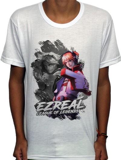Camisa SB - TN Ezreal - League Of Legends