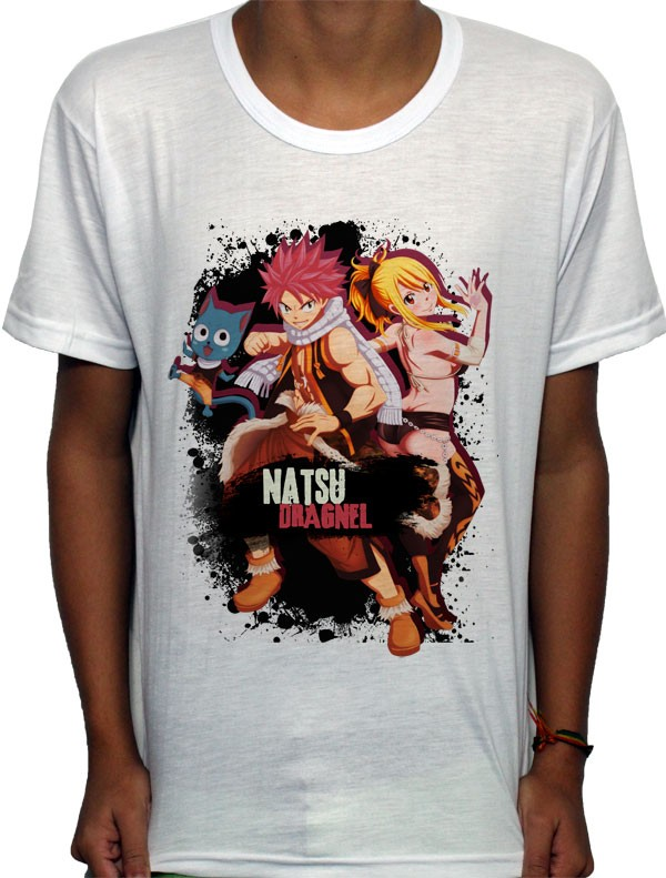 Camisa SB - TN Trio - Fairy Tail