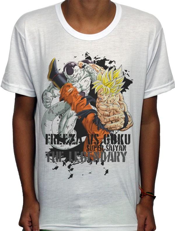 Camisa SB - TN Frezza vs Goku