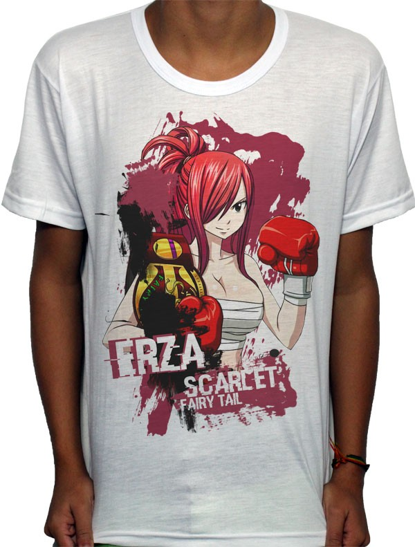 Camisa SB - TN Boxing Erza - Fairy Tail