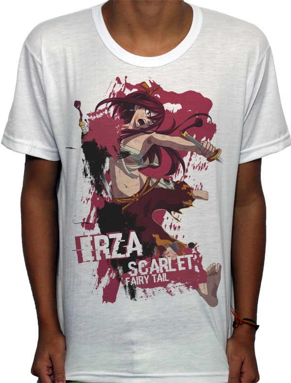 Camisa SB - TN Fighting Erza - Fairy Tail