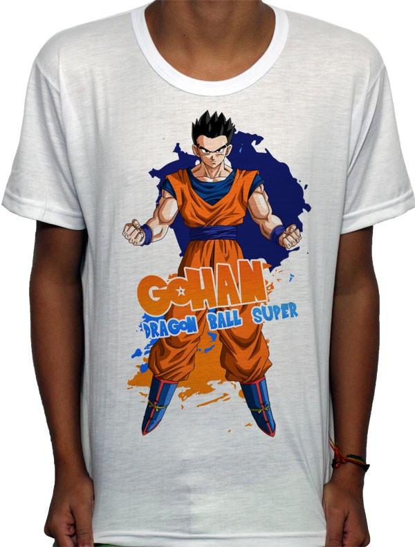 Camisa SB - TN Gohan - Dragon Ball Super