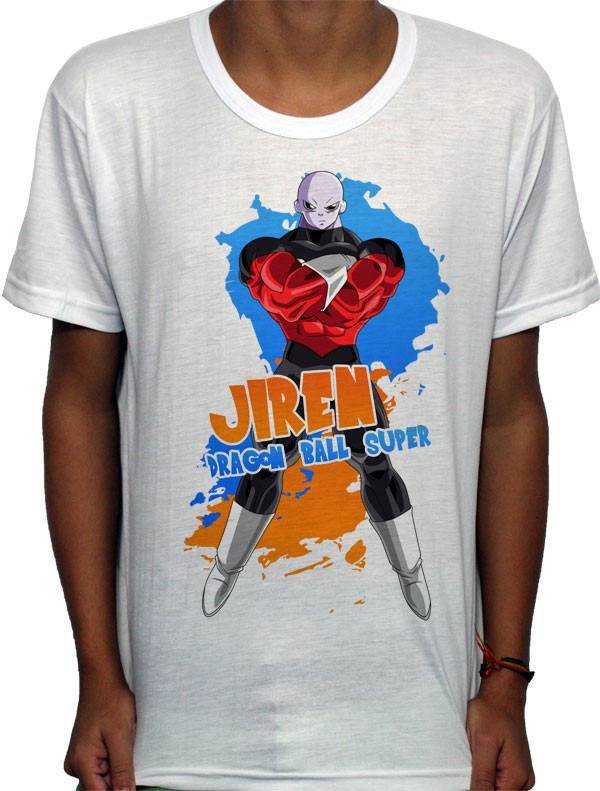 Camisa SB - TN Jiren - Dragon Ball Super