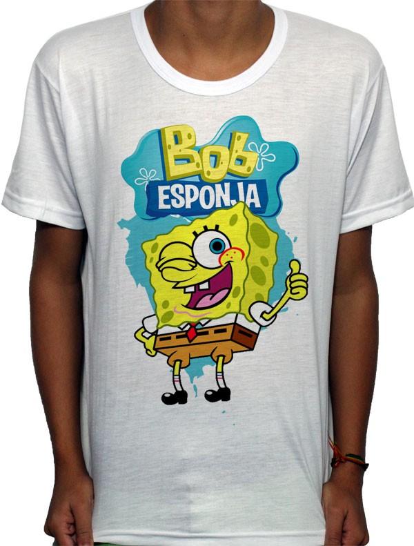 Camisa SB - TN Bob Esponja