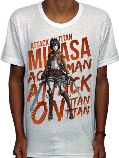 Camisa SB - TN Mikasa - Attack on Titan