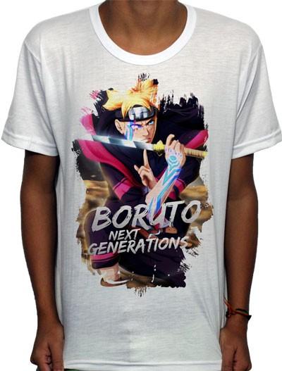 Camisa SB - TN Next Genarations Boruto - Naruto