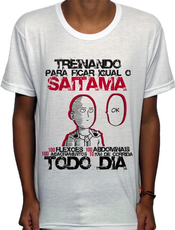 Camisa SB - TN Okay Saitama - One Punch Man