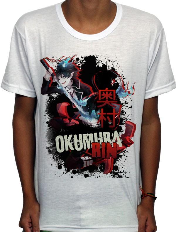 Camisa SB - TN Okumura Rin - Ao No Exorcist