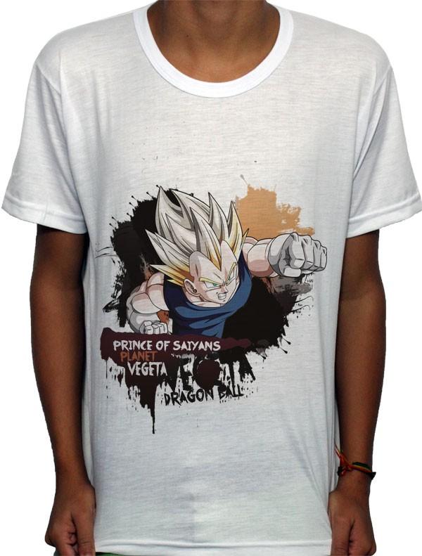 Camisa SB - TN Prince Vegeta