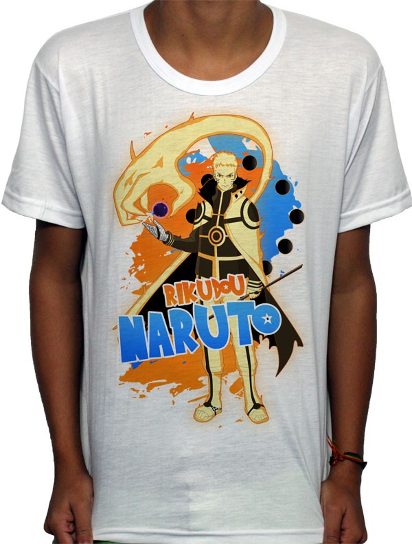 Camisa SB - Tn Rikudou Naruto - Naruto