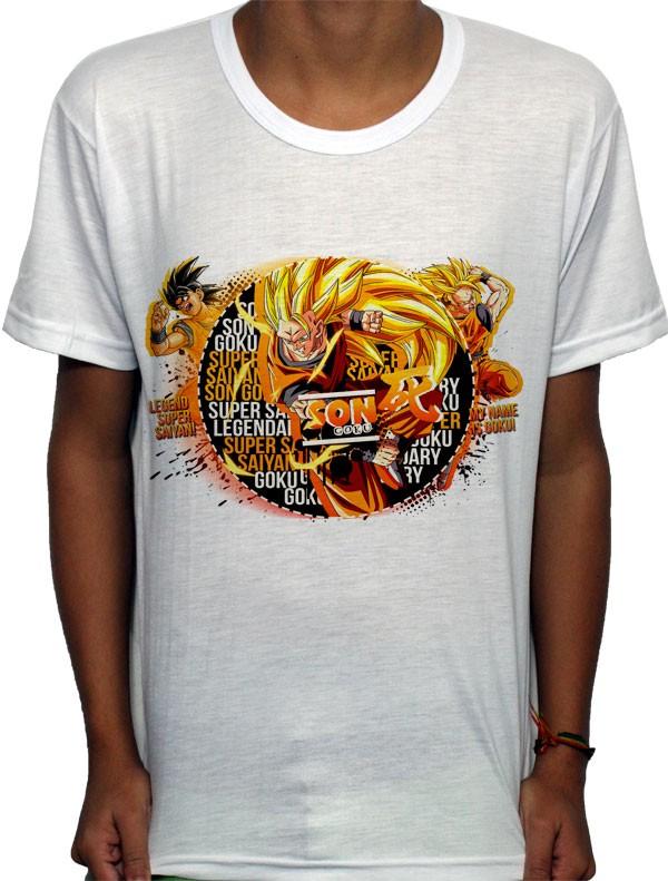 Camisa SB - TN Sayajin Forms Goku