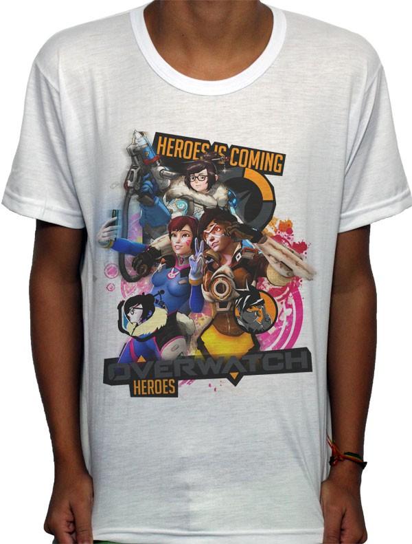 Camisa SB - TN Selfie - Overwatch