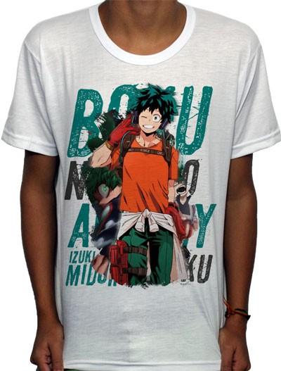 Camisa SB - TN Smile Midoriya - Boku No Hero Academia